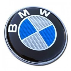 EMBLEMA BMW 82 MM DE DIAMETRO